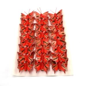 Ambalaje Flori ONLINE vinde Set fluturi 5cm - 24buc. Z43 la pretul de 25.5 lei