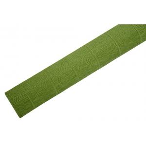 Ambalaje Flori ONLINE vinde Hartie Creponata Floristica - Verde Masliniu - cod 622 la pretul de 4.99 lei