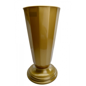 Vaza Flori Aurie - diametru 22cm