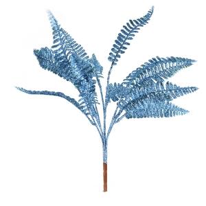 Crenguta feriga cu sclipici albastru