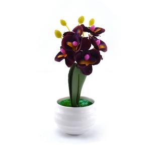 Mini ghiveci orhidee artificiala marsalla