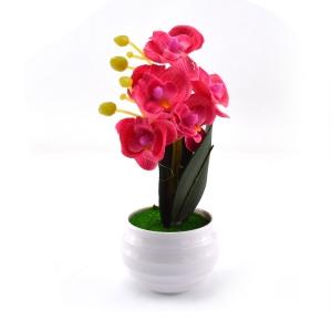 Mini ghiveci orhidee artificiala siclam