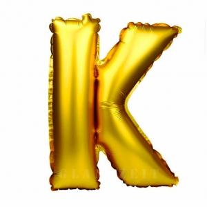 Balon gonflabil auriu 55 cm litera K