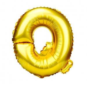 Balon gonflabil auriu 55 cm litera Q
