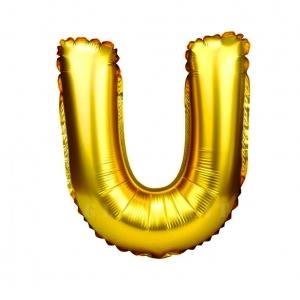 Balon gonflabil auriu 55 cm litera U