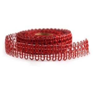 Rola Craciun DUO Rosu Glitter - ambalaje si accesorii florale