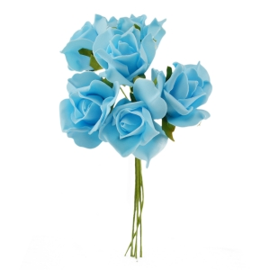 Set Trandafiri din Spuma bleo