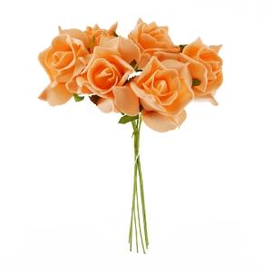 Set Trandafiri din Spuma somon