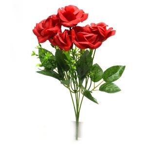 Buchet 5 trandafiri Rhodos rosu