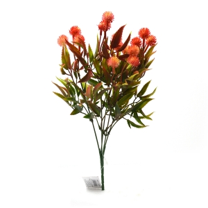 Buchet artificial 5 fire Thistle corai