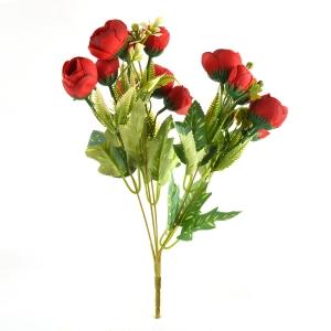 Buchet ranunculus rosu