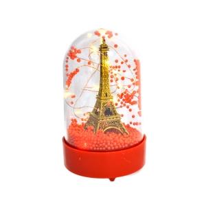 Cupola plastic Eiffel cu lumini led