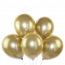Set 25 baloane sidefate aurii