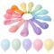 Set 25 baloane culori pastel mixte